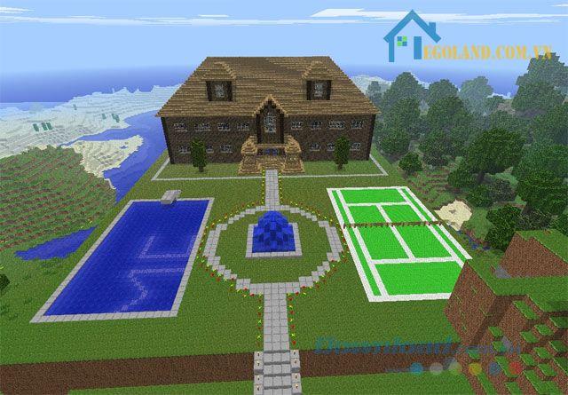 Mẫu xây nhà trong Minecraft 10