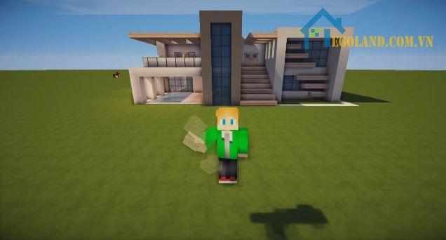 Mẫu xây nhà trong Minecraft 14