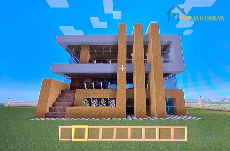 Mẫu xây nhà trong Minecraft 16
