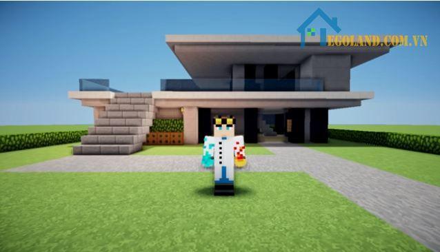 Mẫu xây nhà trong Minecraft 17