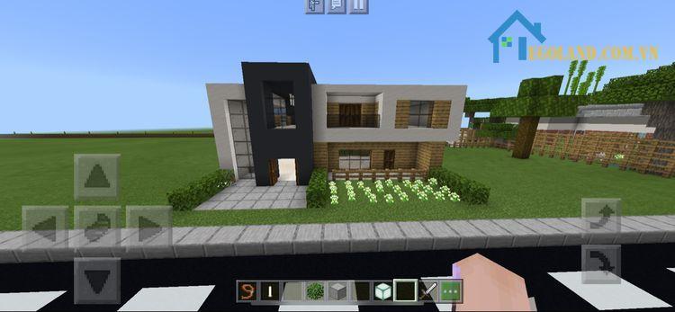 Mẫu xây nhà trong Minecraft 18