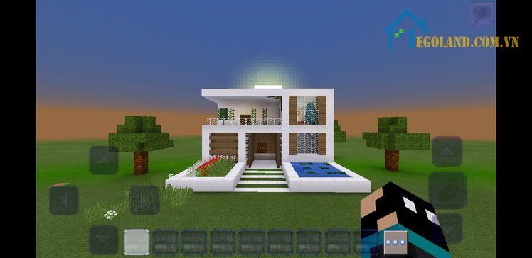 Mẫu xây nhà trong Minecraft 19