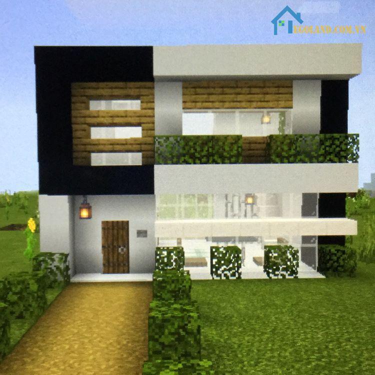 Mẫu xây nhà trong Minecraft 20