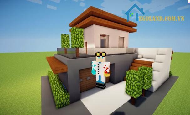 Mẫu xây nhà trong Minecraft 21