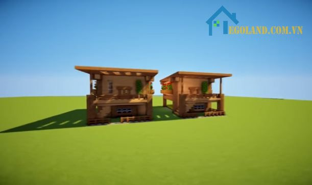 Mẫu xây nhà trong Minecraft 22
