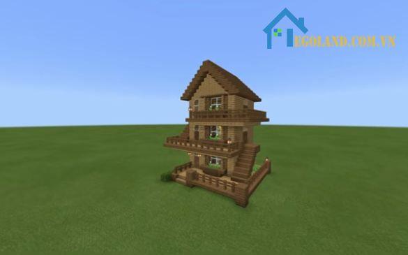 Mẫu xây nhà trong Minecraft 23