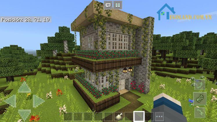 Mẫu xây nhà trong Minecraft 25
