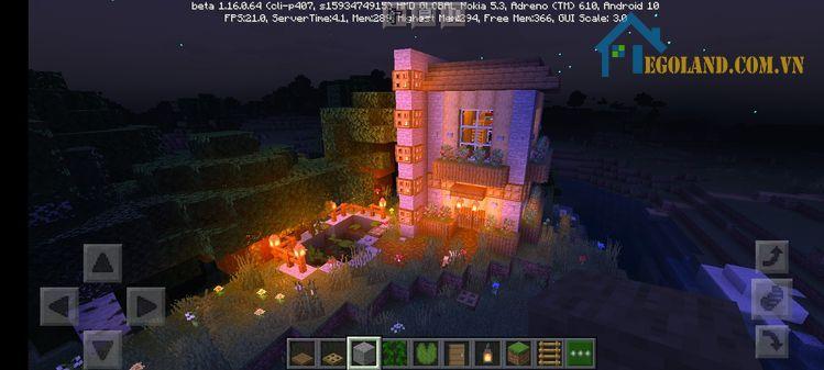 Mẫu xây nhà trong Minecraft 26