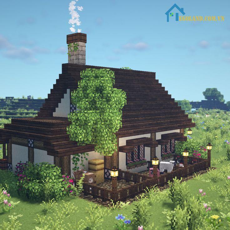 Mẫu xây nhà trong Minecraft 29