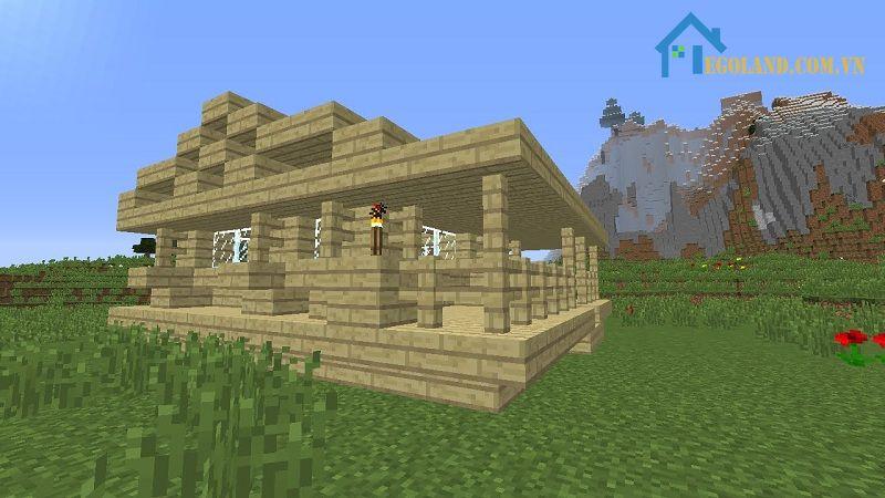 Mẫu xây nhà trong Minecraft 5