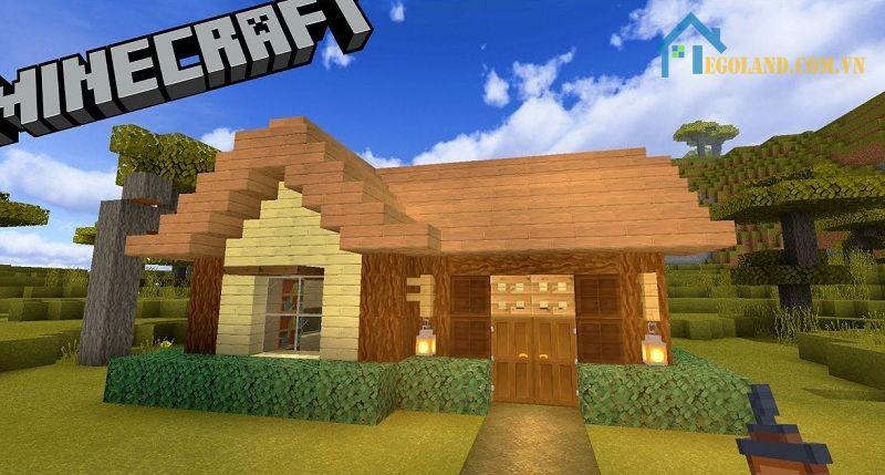 Mẫu xây nhà trong Minecraft 9