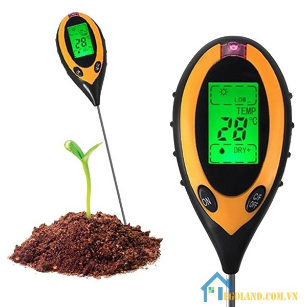 Máy đo PH đất là một loại của máy đo PH