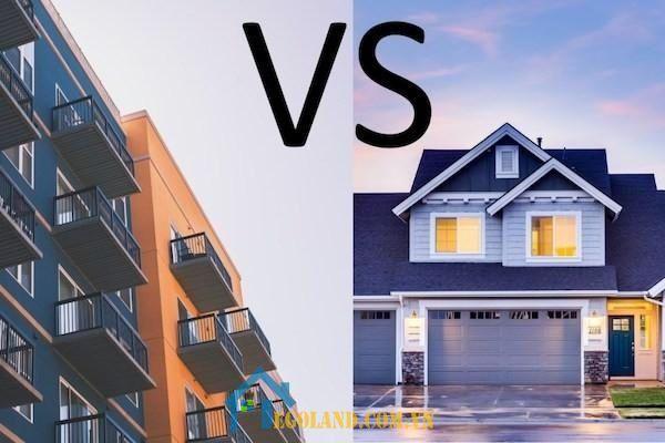 Nên đầu tư vào nhà riêng hay chung cư