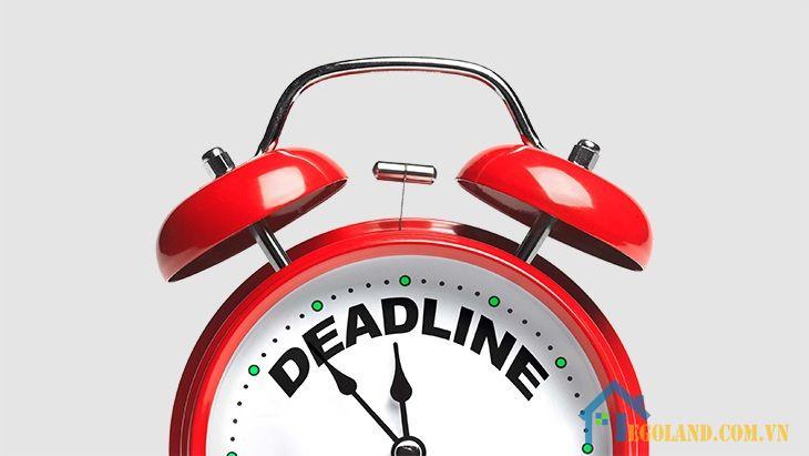 Những phương pháp giúp bạn chạy Deadline hiệu quả