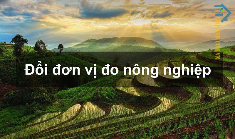 Sào là đơn vị đo lường cổ của Việt Nam