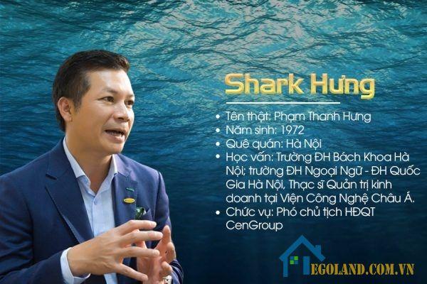 Shark Hưng là người am hiểu chuyên sâu rất nhiều kiến thức xoay quan rất nhiều lĩnh vực