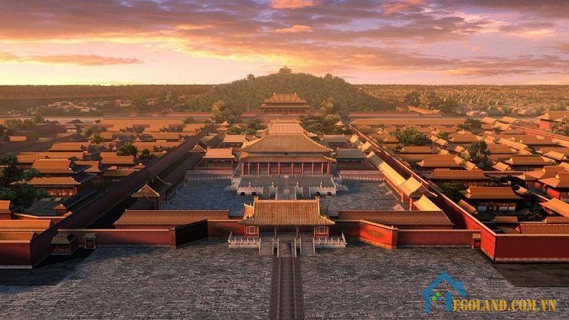 Tử Cấm Thành là công trình kiến trúc thể hiện rõ văn hóa Phương Đông