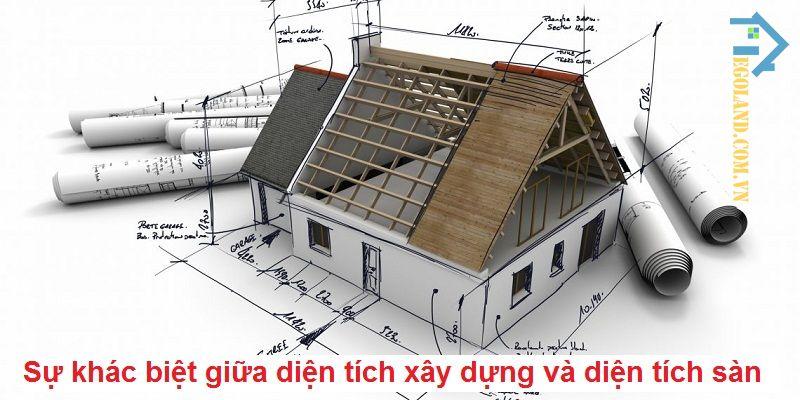 diện tích xây dựng và diện tích sàn