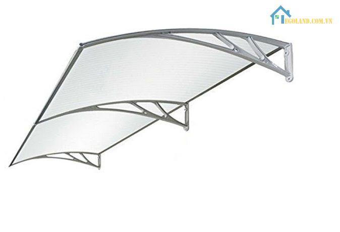 Canopy mang đến những ưu điểm vượt trội mà không phải loại tấm lợp nào cũng có được