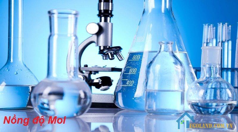 Công thức tính nồng độ mol được ứng dụng rộng rãi