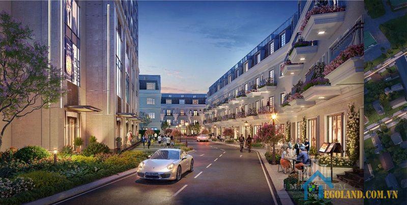 Dự án Imperium Town Nha Trang được tiến hành xây dựng theo phong cách Compound