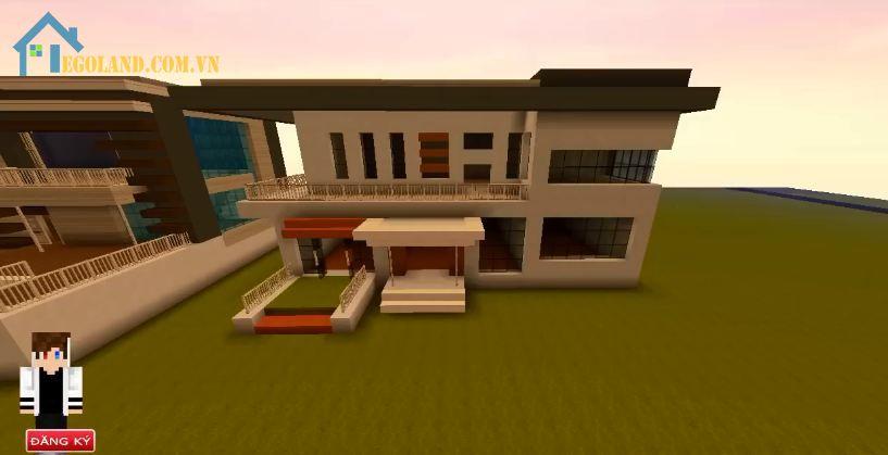 Hoàn thiện xây xong nhà mini Uworld