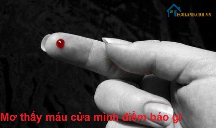 Mơ thấy máu cửa mình điềm báo gì?