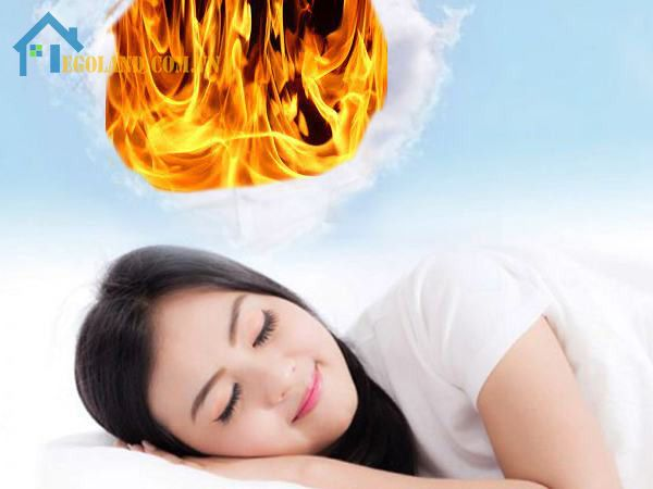Nằm mơ thấy lửa