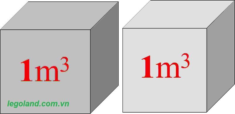 công thức tính m3