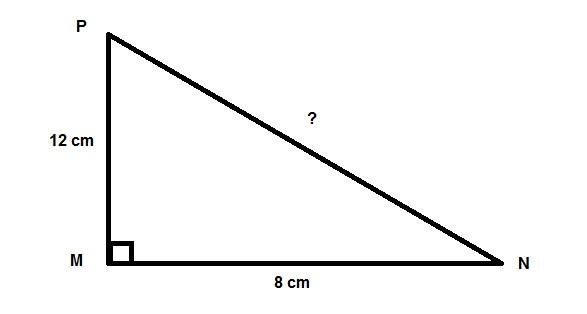 tam giác vuông NMP