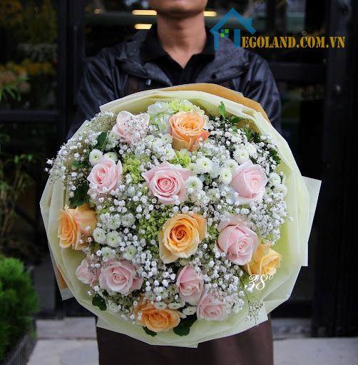 20/10 người ta thường tặng hoa là chủ yếu