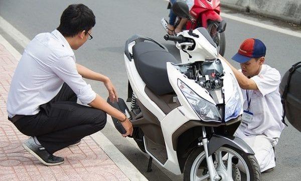 Cứu hộ xe máy 24/7 uy tín tại Hà Nội