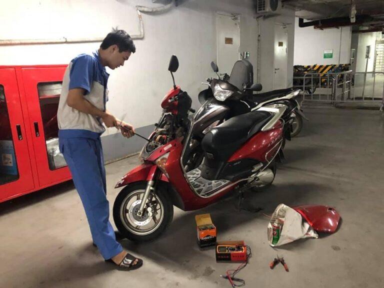 Cứu hộ xe máy Ánh Dương giá rẻ