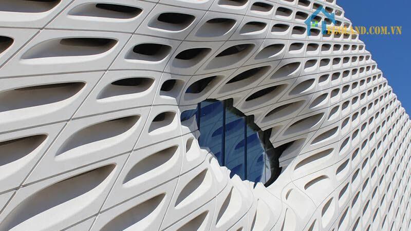 Bê tông cốt sợi thủy tinh xây dựng nên công trình kiến trúc hoàn hảo
