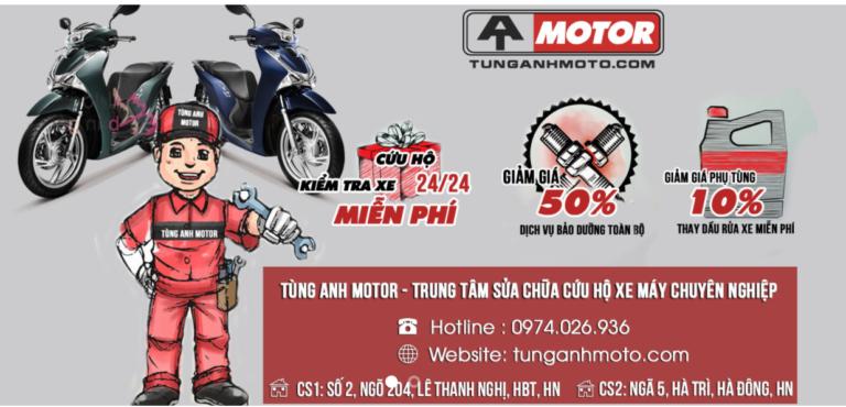 Cứu hộ xe máy Tùng Anh
