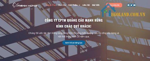 Công ty Cổ phần Thương mại và Quảng cáo Mạnh Hùng