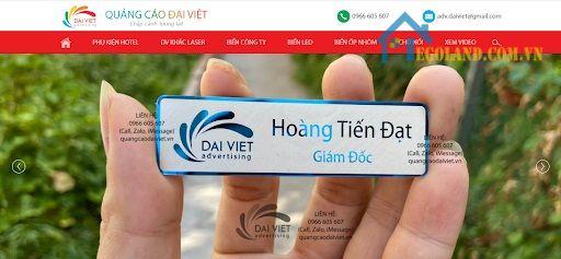 Công ty TNHH Quảng cáo & Nội thất Đại Việt