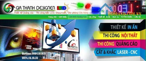 Công ty TNHH TM và DV quảng cáo Gia Thành