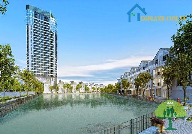 Hồ điều hòa rộng 7.200 m2 trong dự án dự án HH FLC Garden City