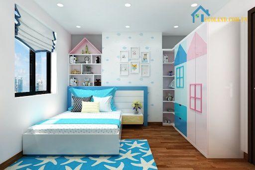 Kích thước phòng ngủ tiêu chuẩn cho nhà ống