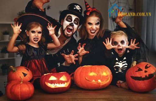 Halloween Mang tính giáo dục trẻ em