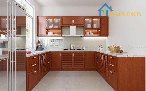 Phòng bếp hình chữ U