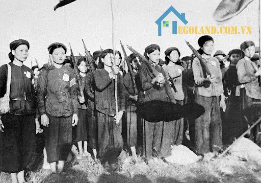 Phụ nữ Việt Nam được tham gia cách mạng