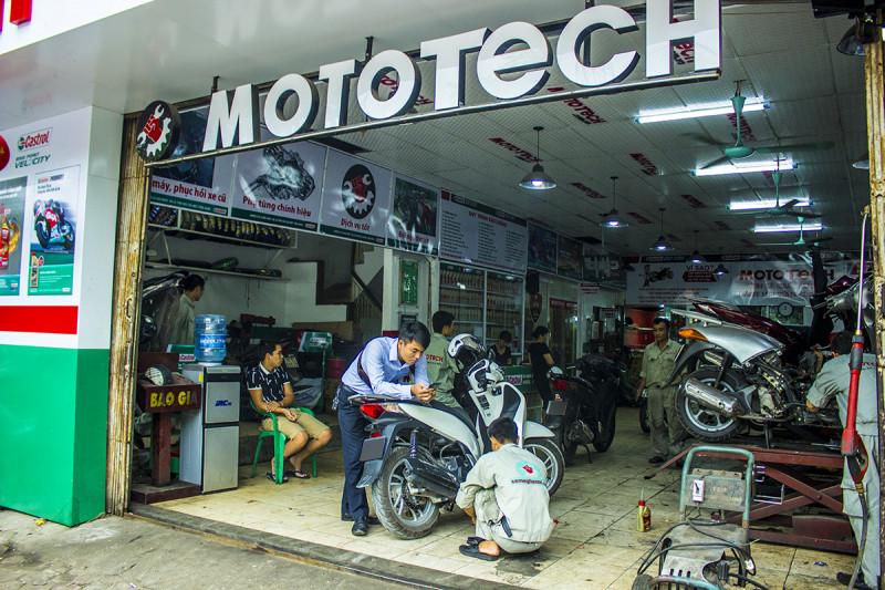 MotoTech - Cứu hộ xe máy nhanh chóng, giá rẻ