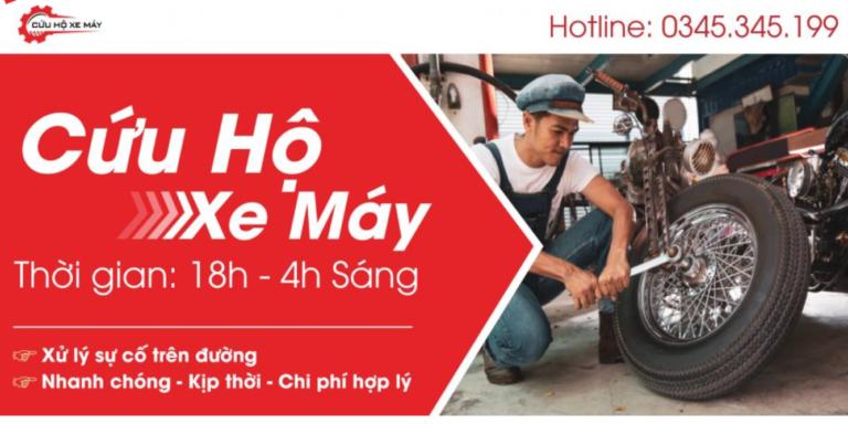 Dịch vụ cứu hộ xe máy khẩn cấp Hà Nội