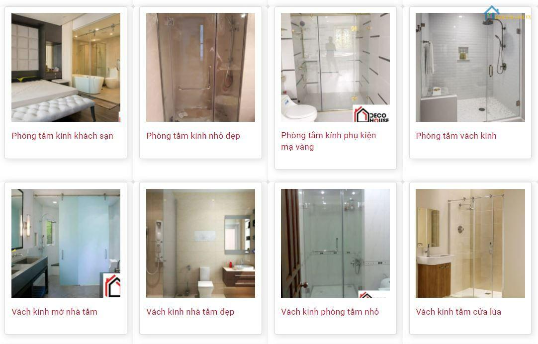 2 Cửa lùa nhôm kính nhà vệ sinh Decohouse