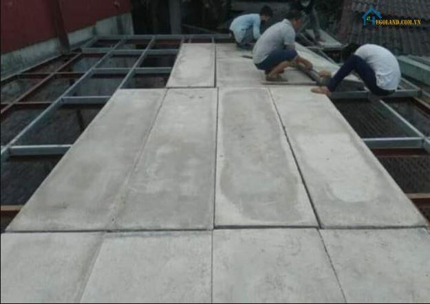2 Tấm sàn bê tông siêu nhẹ tại giaxaynhamoi