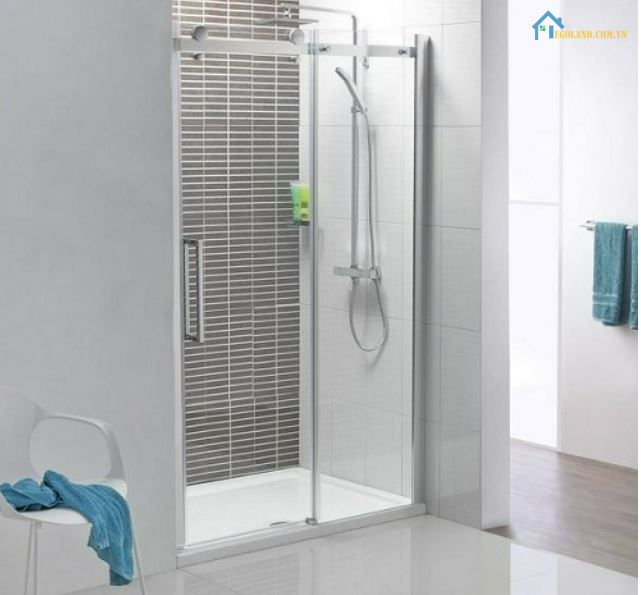 4 Vách kính lùa phòng tắm Nhật Minh
