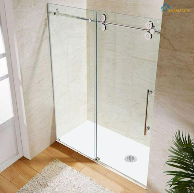5 Cửa kính lùa phòng tắm DƯƠNG GIA GLASS