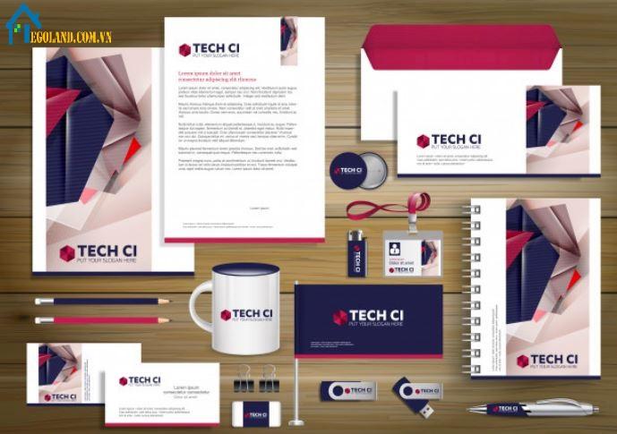 Một bộ nhận diện thương hiệu chuẩn phải mang tính đồng nhất về màu sắc,logo các loại